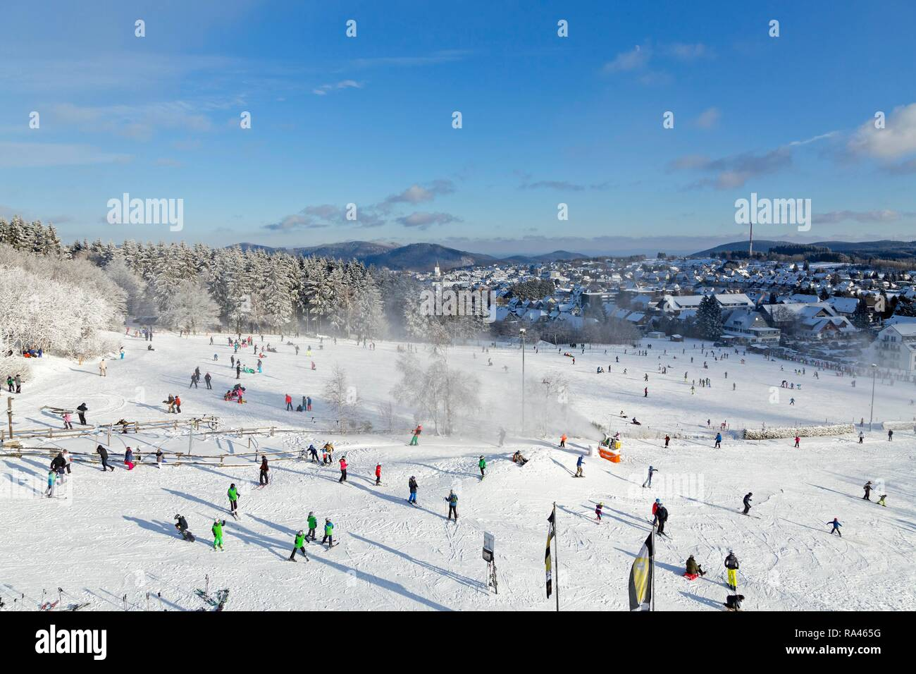 winterberg, germany ski stock photos & winterberg, germany ski stock