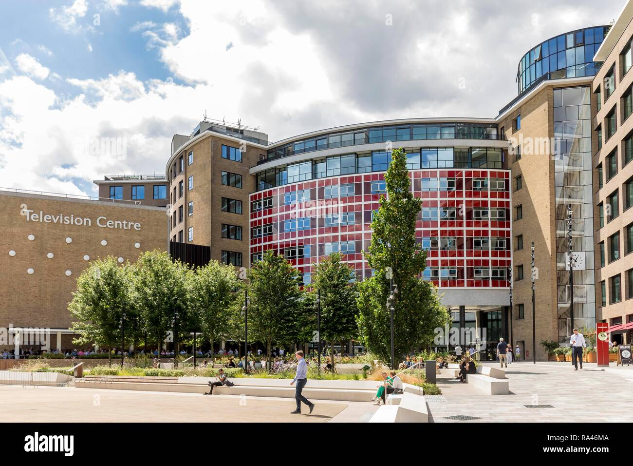 BBC Television Centre, White City, London, Great Britain - Stock Image