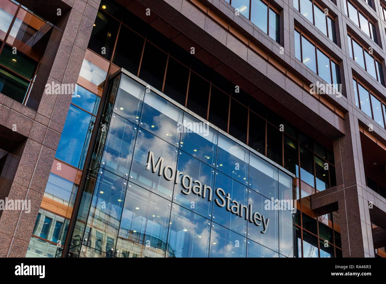 Morgan Stanley Bank Stock Photos & Morgan Stanley Bank Stock Images