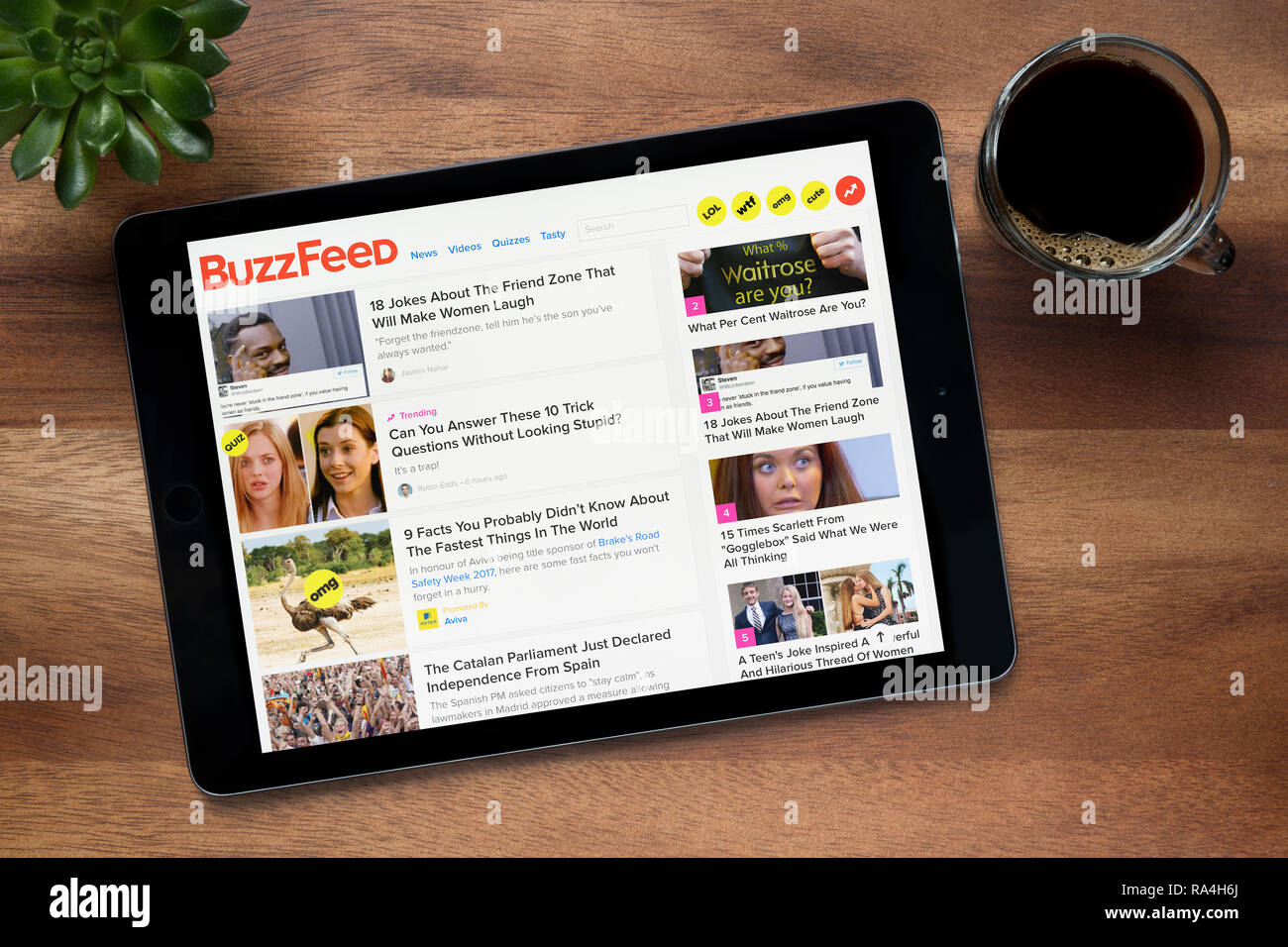 Buzzfeed Stock Photos & Buzzfeed Stock Images - Alamy