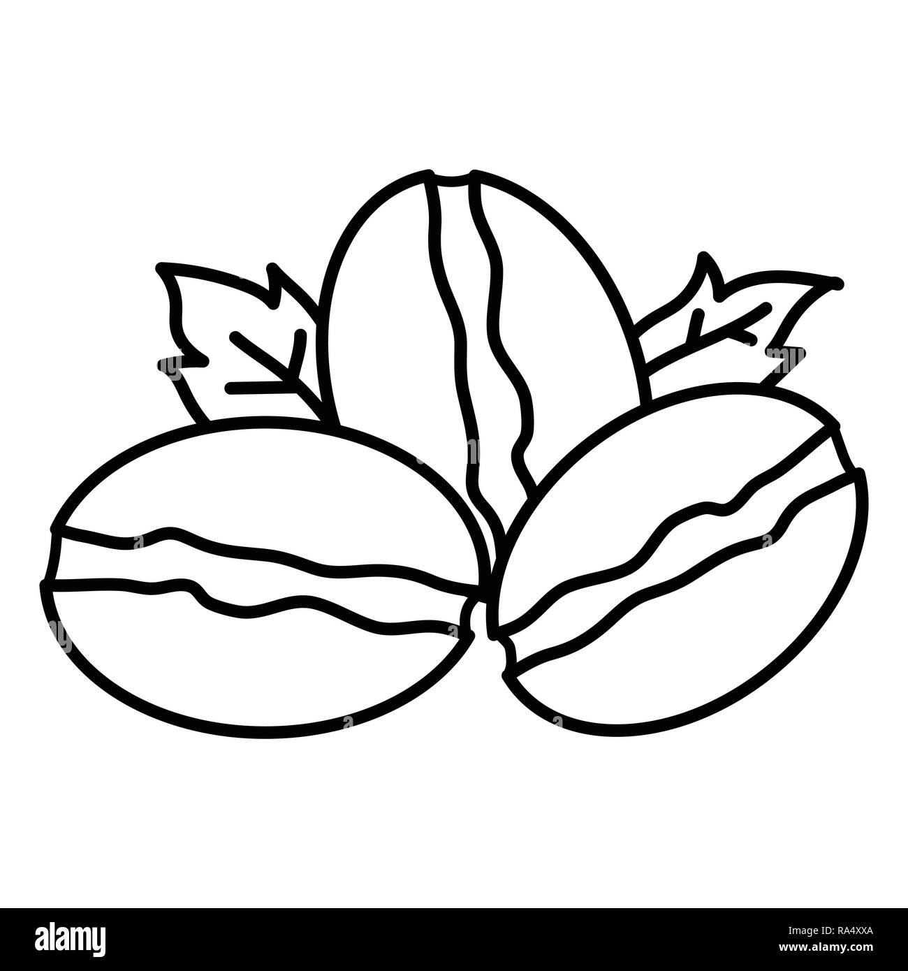 isolated coffee bean on white background for logo design vector Trans AM Firebird Logo isolated coffee bean on white background for logo design vector illustration