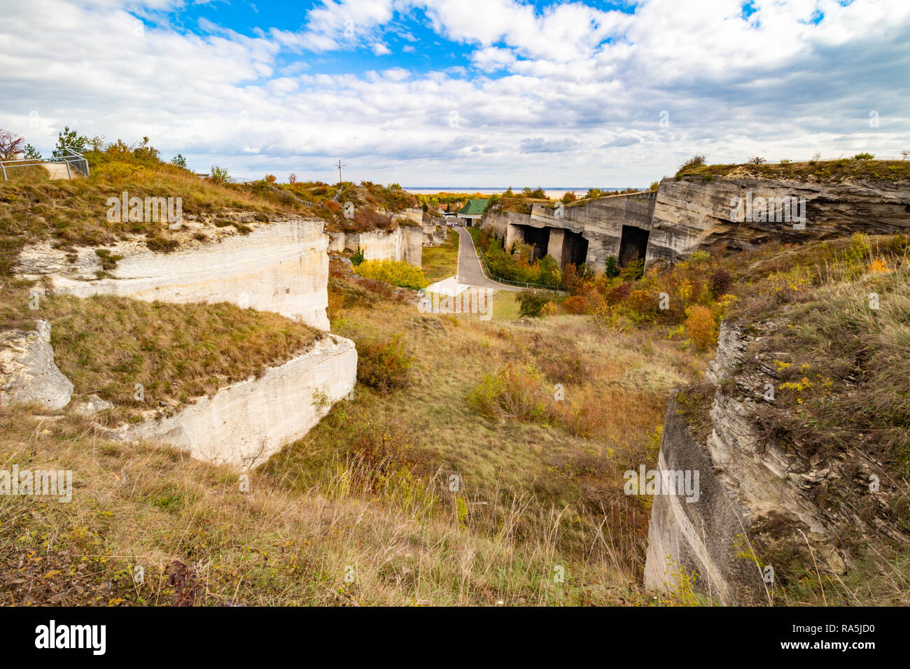 Limestone Mine Stock Photos & Limestone Mine Stock Images