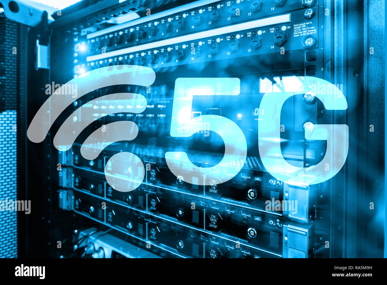 5g Fast Wireless Internet Connection Communication Mobile