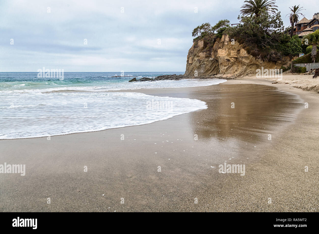 A Day in Laguna Beach, California Stock Photo