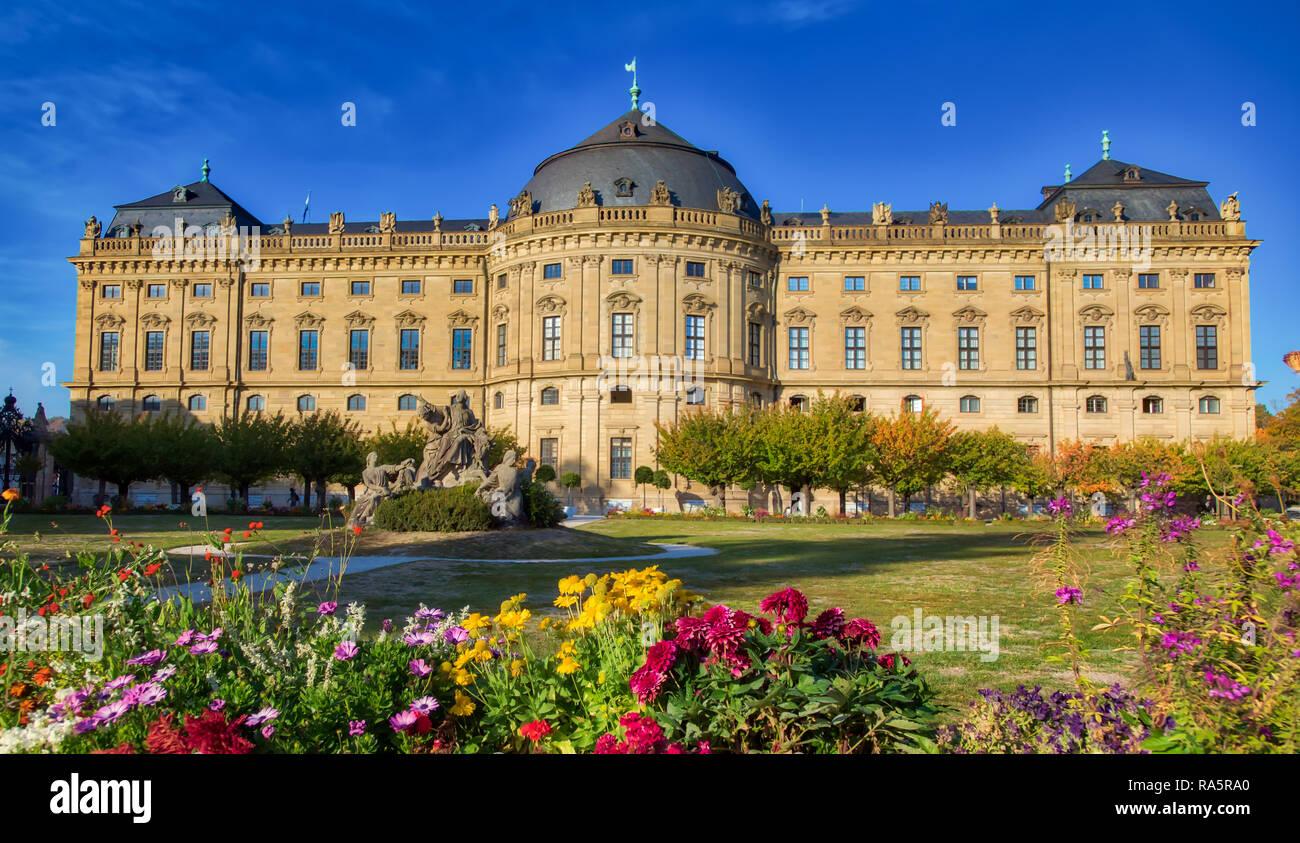 Bishop's Residenz Wurzburg, Germany - Stock Image