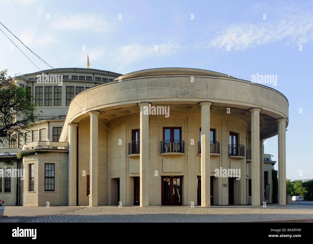 Centennial Hall, Hala Stulecia, built in 1913 by Max Berg, UNESCO World Heritage Site, Wroclaw, Lower Silesia Province, Poland Stock Photo