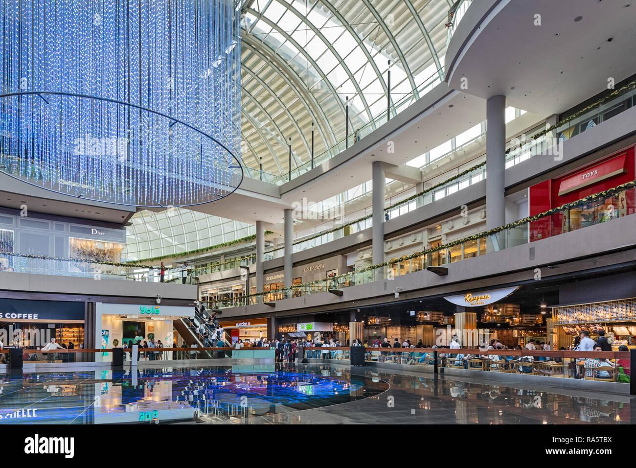 The Shoppes at Marina Bay Sands - Singapore - Stock Image