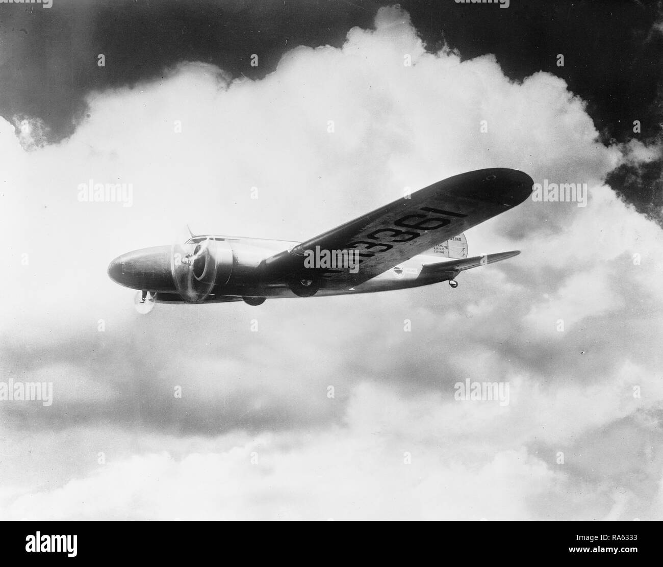 Commercial aviation ca. 1905-1945 - Stock Image