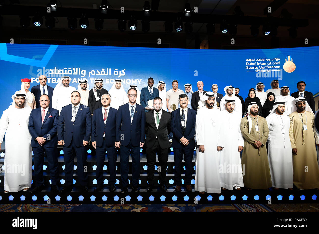 Dubai, UAE  2nd January, 2019  Economic Opportunities of Players and