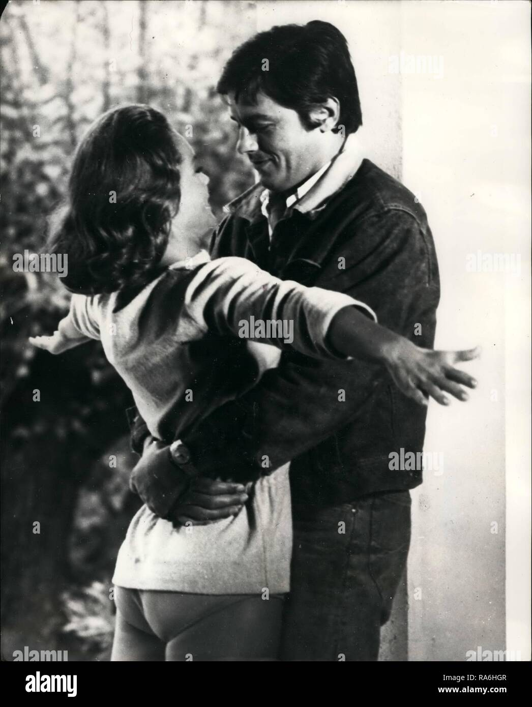 1963 Their Fist Kiss Since 1963 Actress Romy Schneider Was