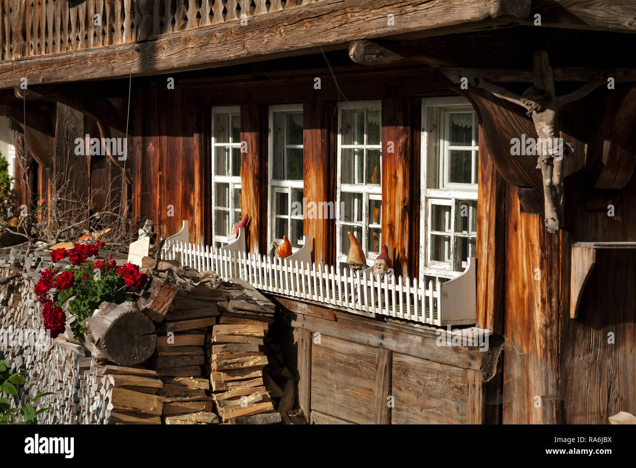 Farm house in Geschwend at the Black Forest Stock Photo