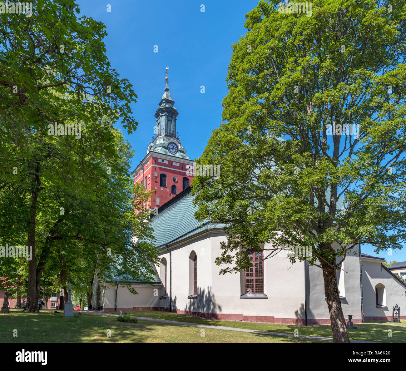 The 17th century Kristina kyrka in Sala, Västmanland, Sweden - Stock Image