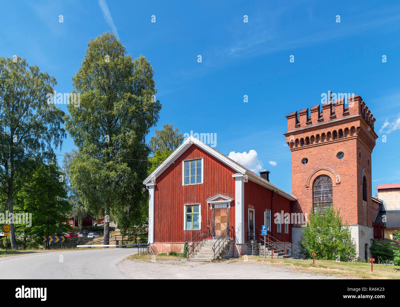 The Sala Silver Mine (Sala silvergruva), an open air museum in Sala, Västmanland, Sweden - Stock Image