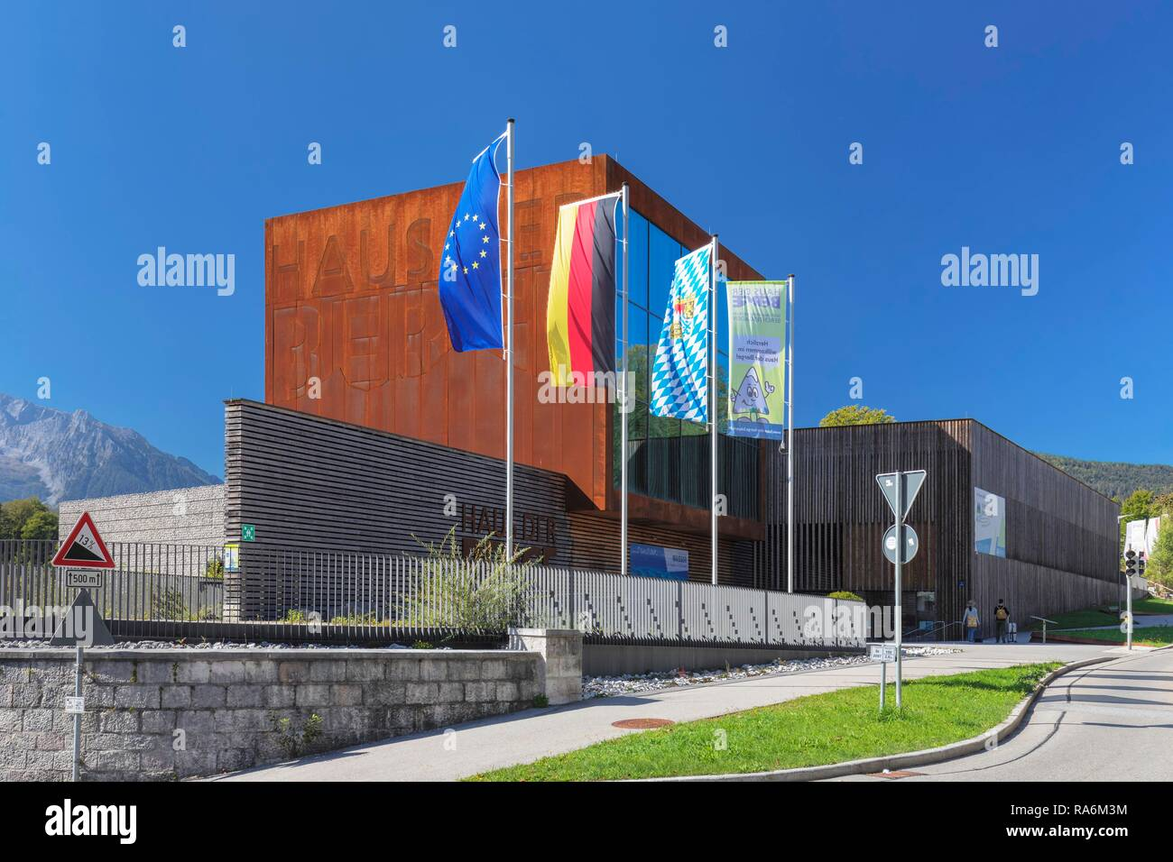House of Mountains, Information and Education Centre of the Berchtesgaden National Park in Berchtesgaden, Bavaria, Upper Bavaria - Stock Image