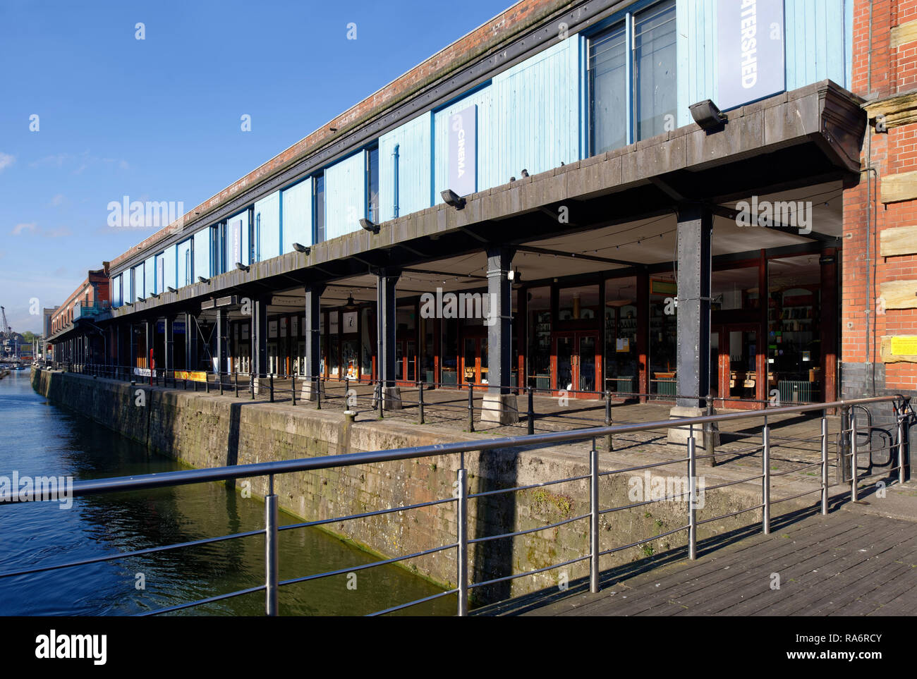The Waterfront and Watershed, St Augustine's Reach, Bristol City Docks - Stock Image