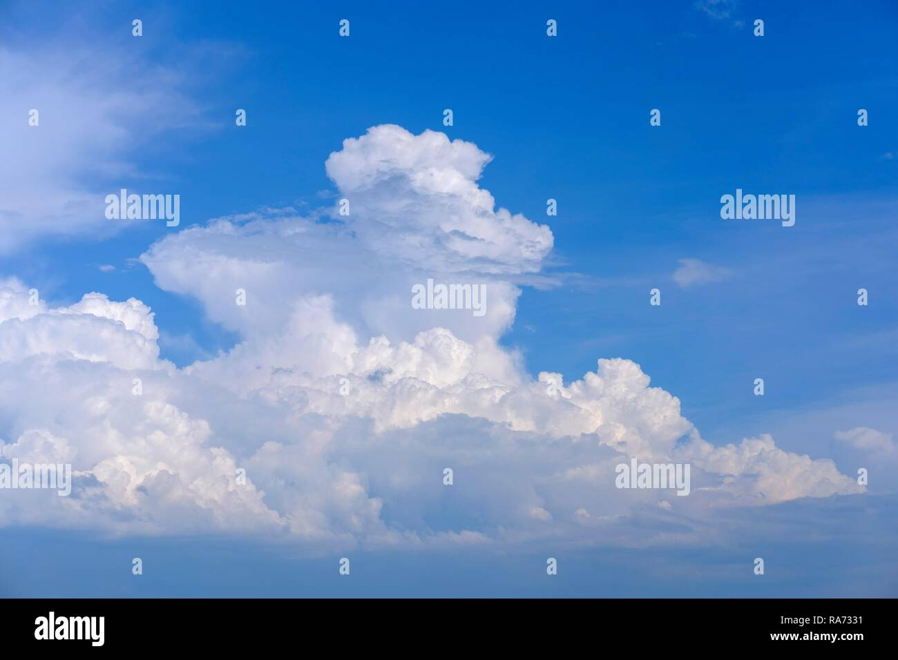 Cumulonimbus Clouds, Montenegro - Stock Image