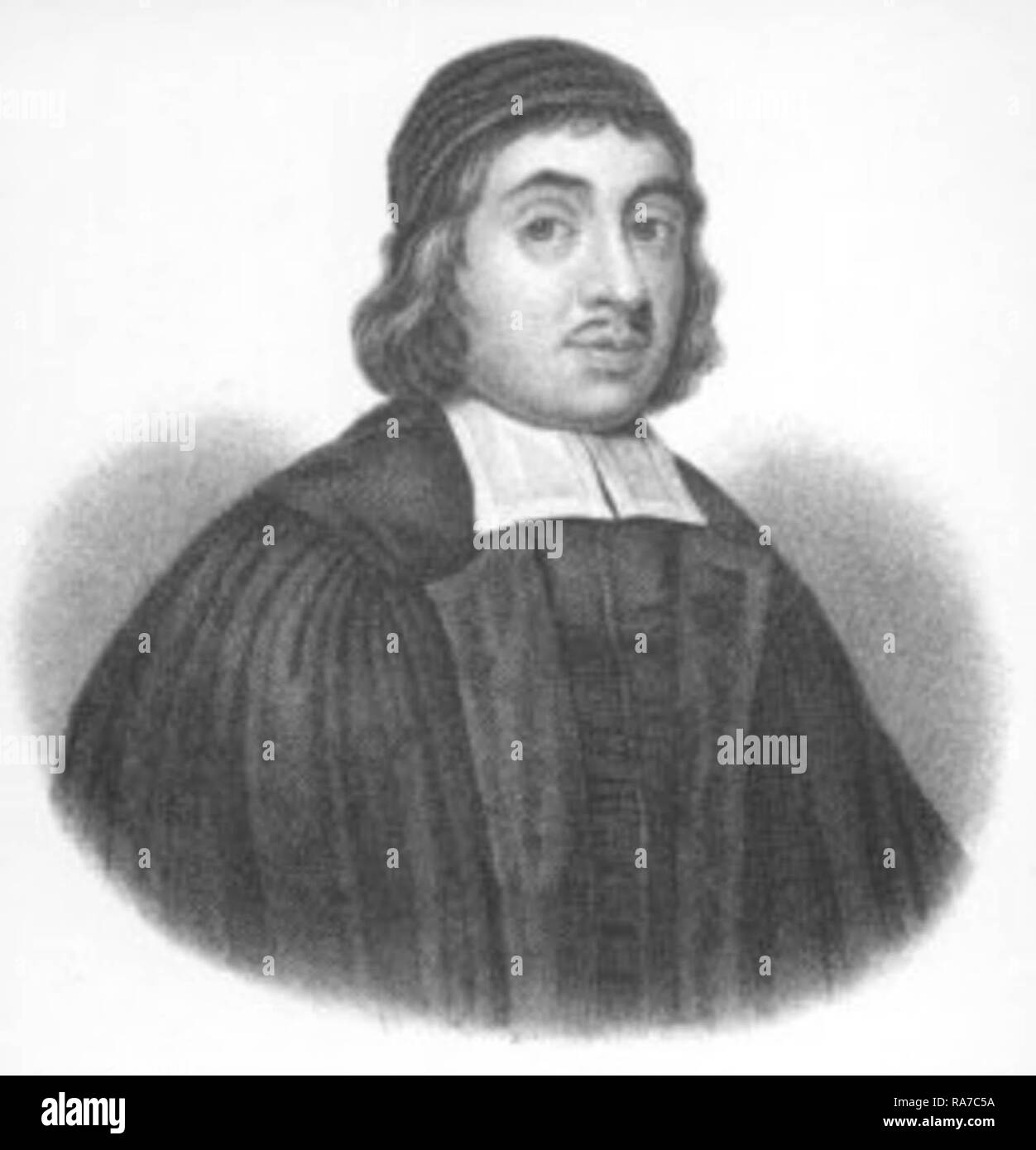 Thomas Watson (c. 1620 – 1686) was an English, Nonconformist, Puritan preacher and author. - Stock Image