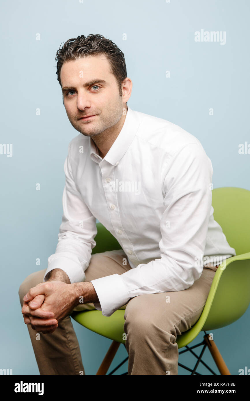 Peter Rahal, CEO, president, and co-founder of RXBAR Stock Photo