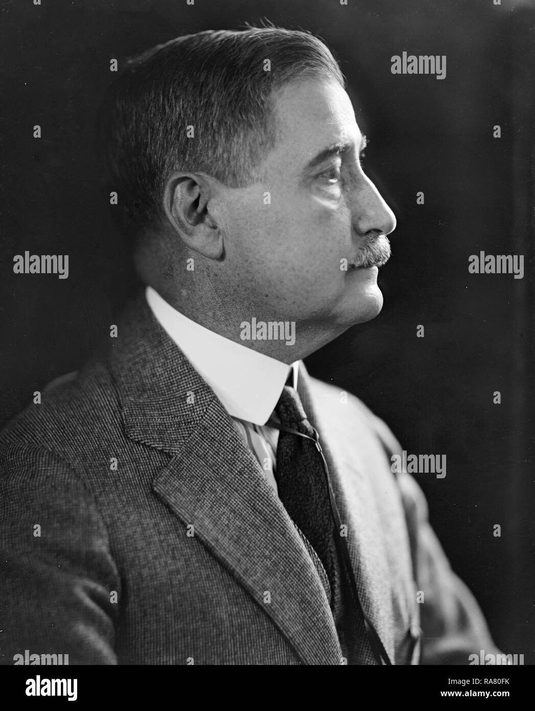 Frank Brett Noyes, one of the founders of the Associated Press ca. early1900s - Stock Image