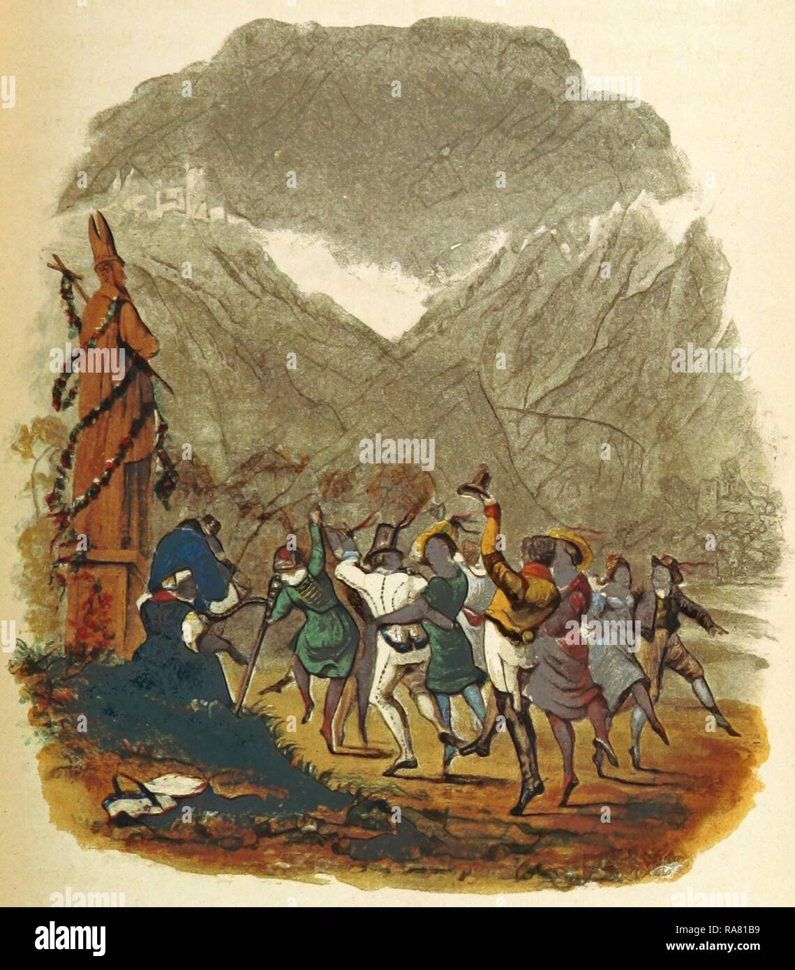 Toplitz, Sketches of Germany and the Germans, in 1834, 1835, and 1836. By an Englishman resident in Germany, 19th reimagined - Stock Image