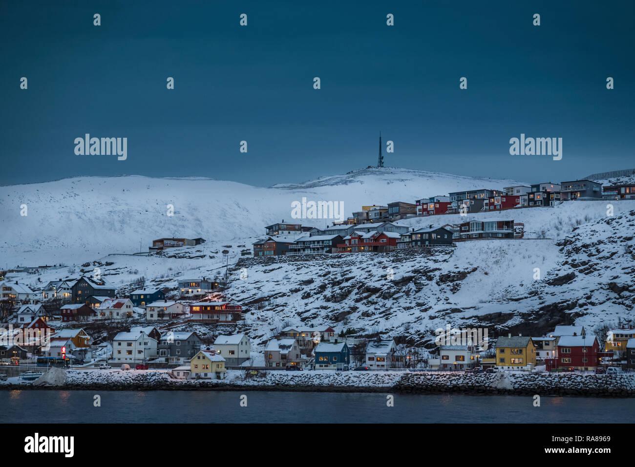 Hammerfest, Norway. Stock Photo