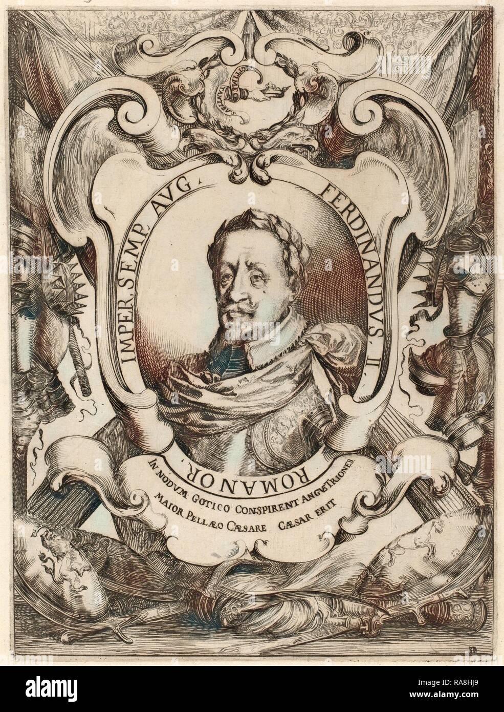 Stefano Della Bella (Italian, 1610 - 1664), The Emperor Ferdinand II,