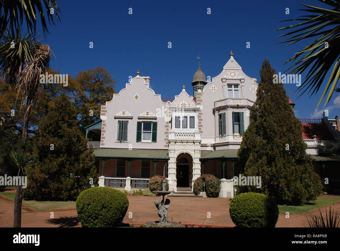The historic stately mansion and museum of Melrose House in Pretoria, South Africa - Stock Image