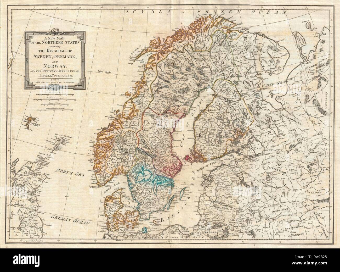 Map Of Norway Stock Photos & Map Of Norway Stock Images - Alamy Detailed Map Of Neska on