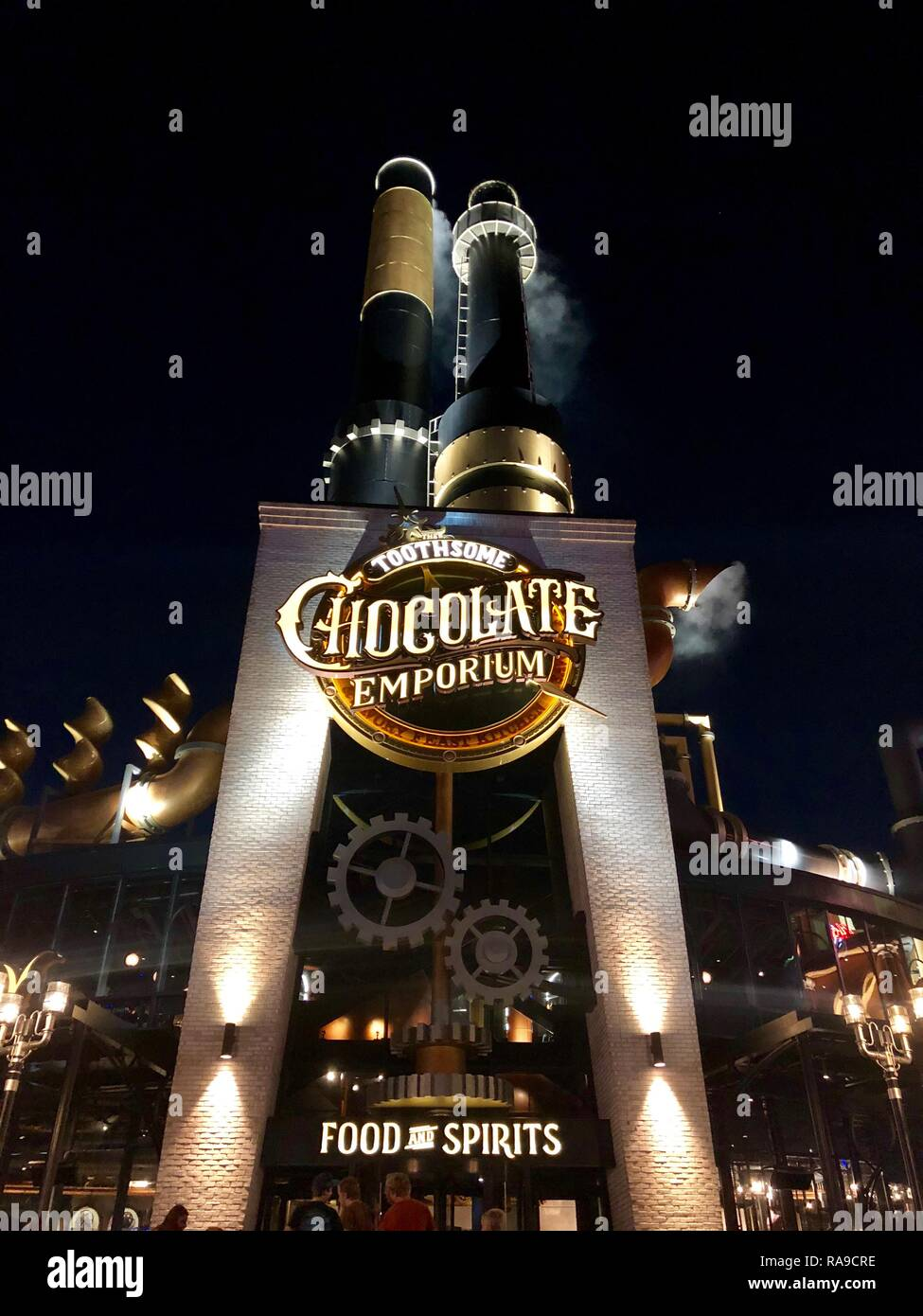 Toothsome Chocolate Emporium & Savory Feast Kitchen - Stock Image