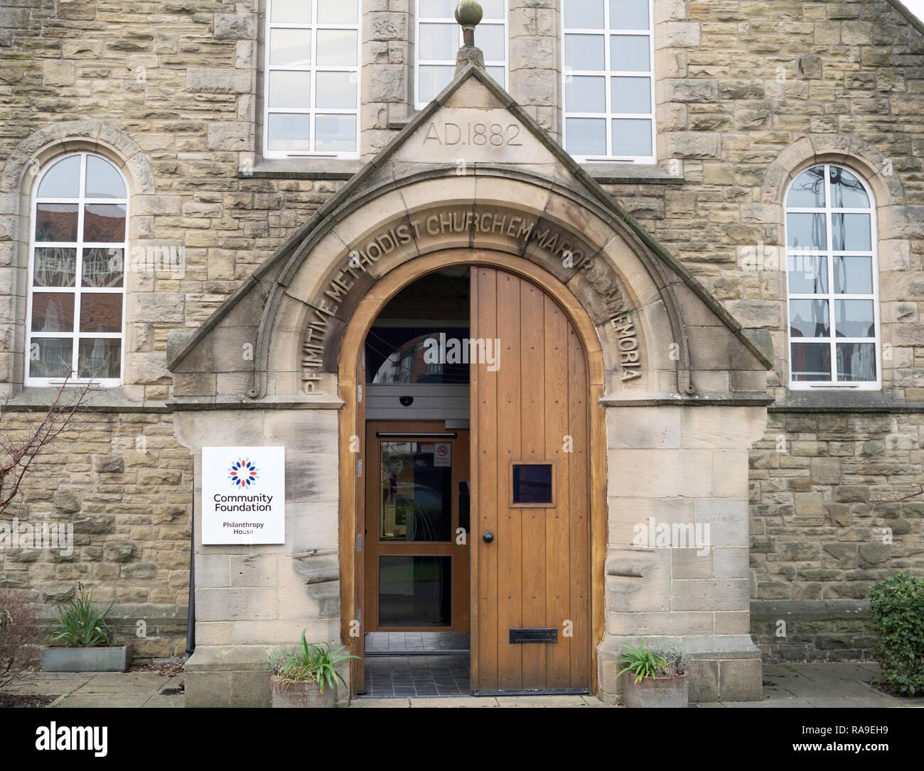 Community Foundation building,  Philanthropy House, in Gosforth, Newcastle, north east England, UK Stock Photo