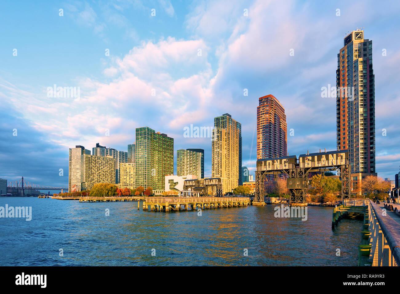 Long Island City, Queens, New York, New York City Stock Photo