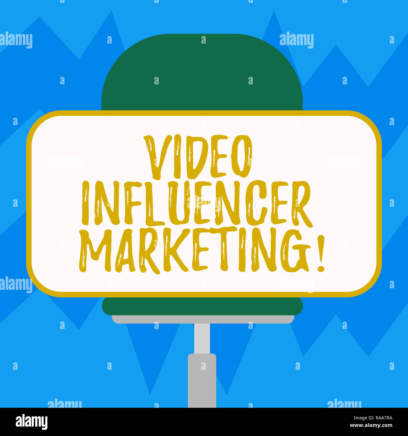 Text sign showing Video Influencer Marketing  Conceptual