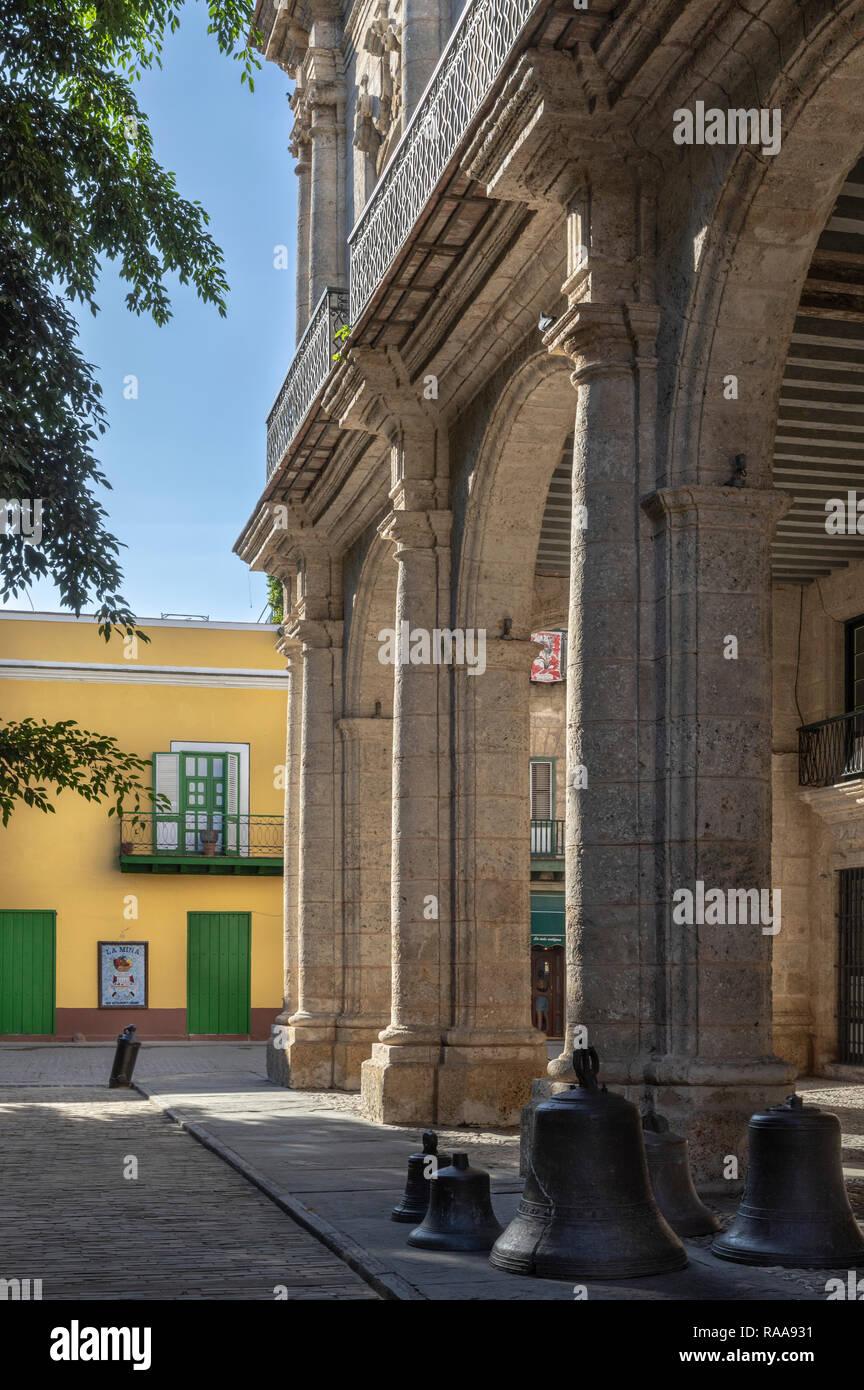 Palacio de los Capitanes Generales, Plaza de Armas, Havana, Cuba - Stock Image