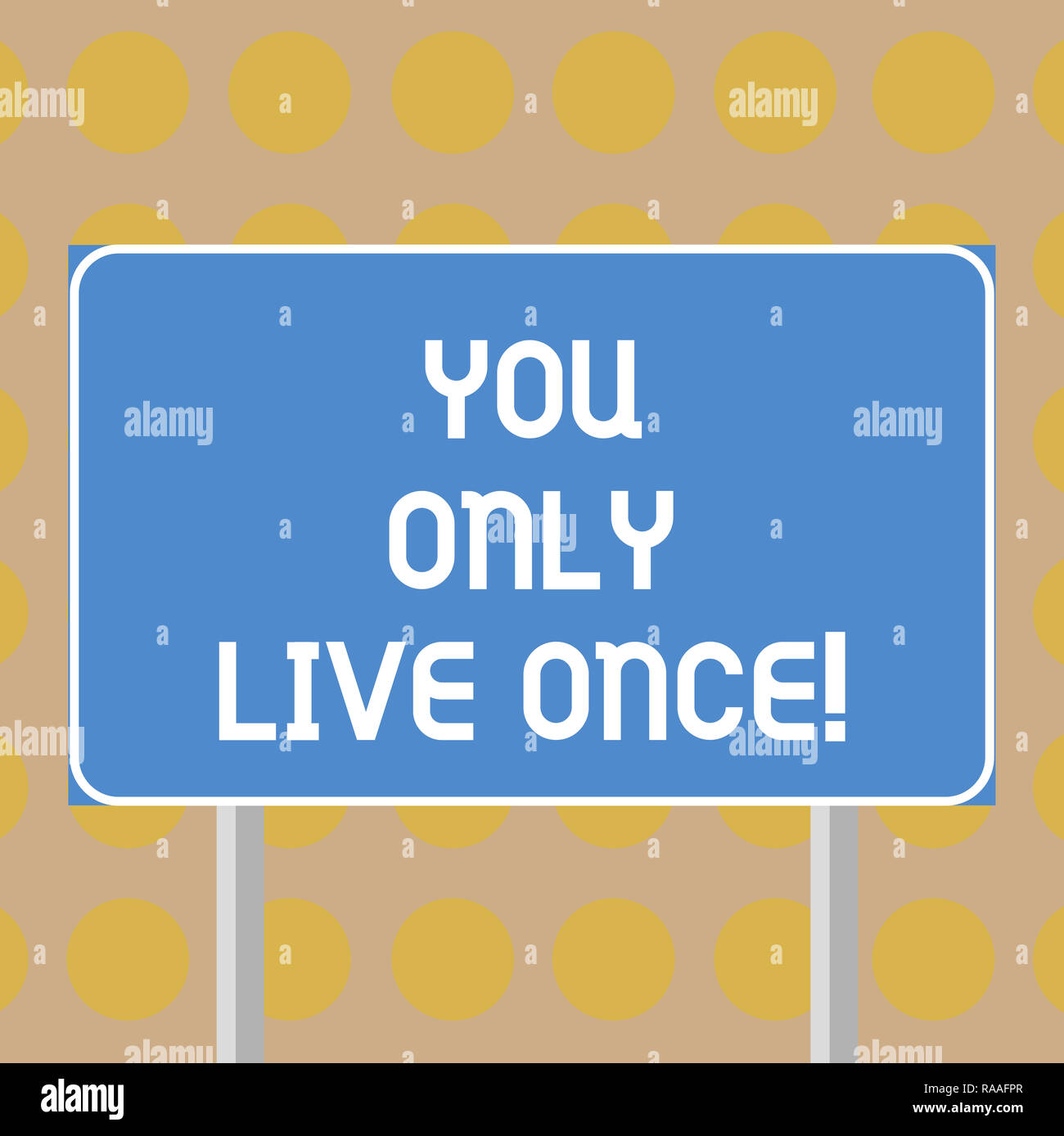 enjoy life you only live once