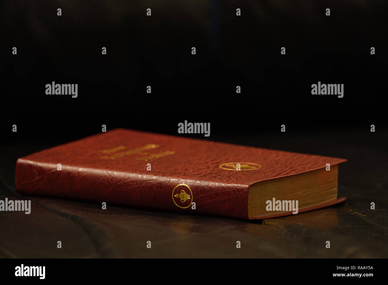 Pocket New Testament and Psalms Gideon Bible - Stock Image