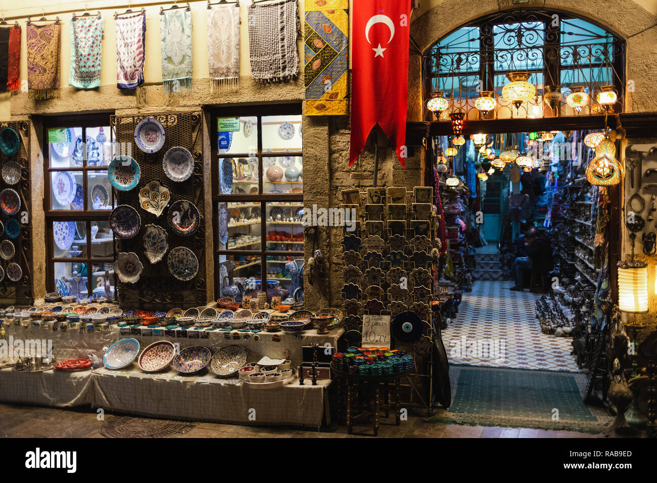 Street Market In Antalya Turkey Stock Photos Amp Street