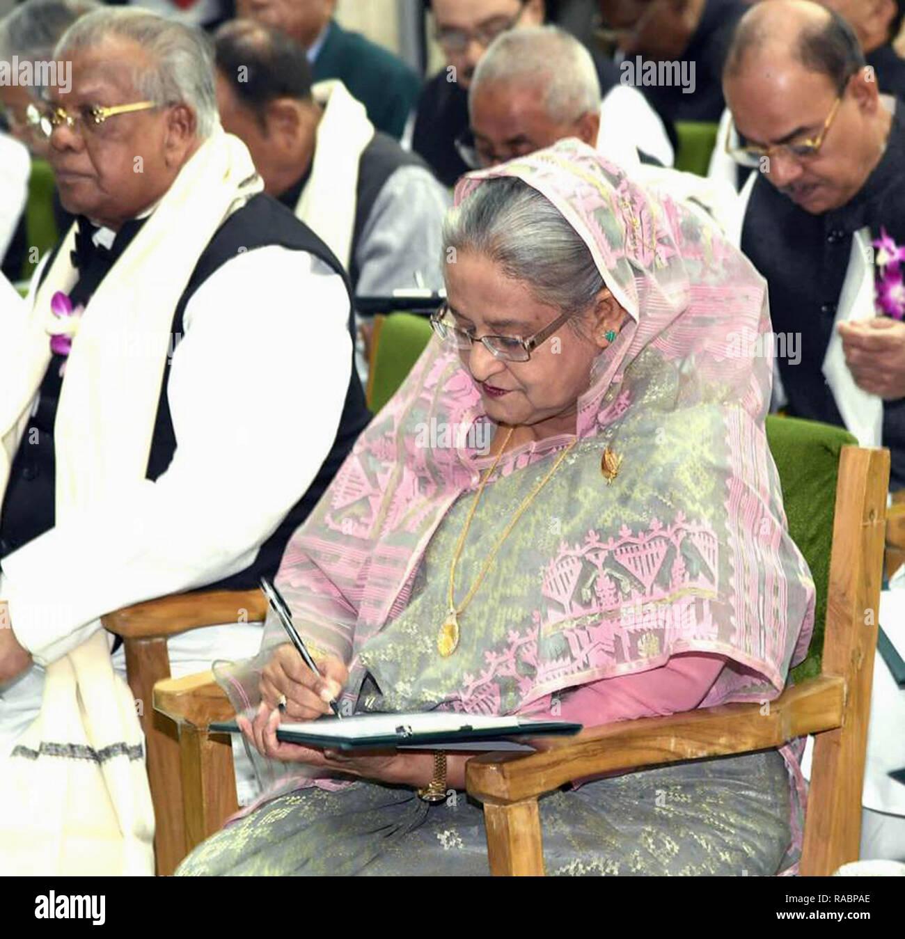 Dhaka  3rd Jan, 2019  Bangladesh Prime Minister Sheikh