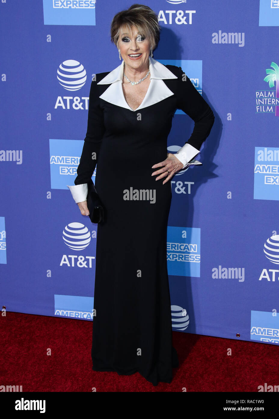 Palm Springs, California, USA. 3rd January, 2019. Lorna Luft arrives at the 30th Annual Palm Springs International Film Festival Awards Gala held at the Palm Springs Convention Center on January 3, 2019 in Palm Springs, California, United States. (Photo by Xavier Collin/Image Press Agency) Credit: Image Press Agency/Alamy Live News - Stock Image