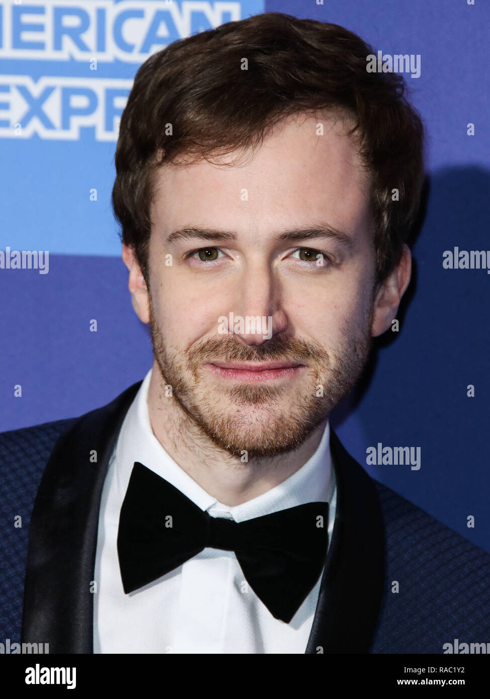Palm Springs, California, USA. 3rd January, 2019. Joseph Mazzello arrives at the 30th Annual Palm Springs International Film Festival Awards Gala held at the Palm Springs Convention Center on January 3, 2019 in Palm Springs, California, United States. (Photo by Xavier Collin/Image Press Agency) Credit: Image Press Agency/Alamy Live News - Stock Image