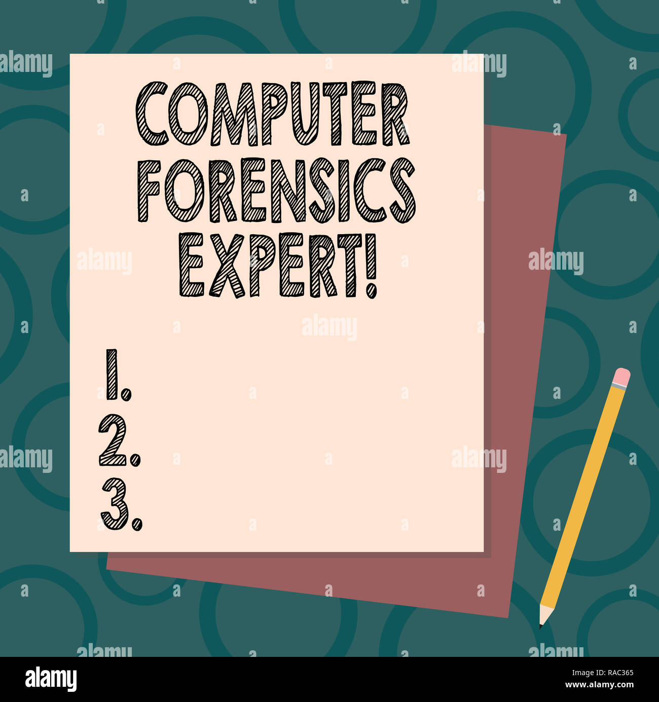 Handwriting Text Writing Computer Forensics Expert Concept Meaning Harvesting And Analysing Evidence From Computers Stack Of Blank Different Pastel C Stock Photo 230147293 Alamy