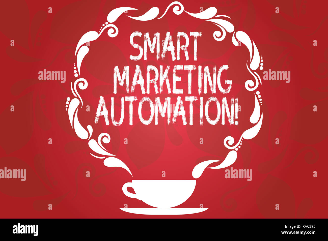 Word Writing Text Smart Marketing Automation Business