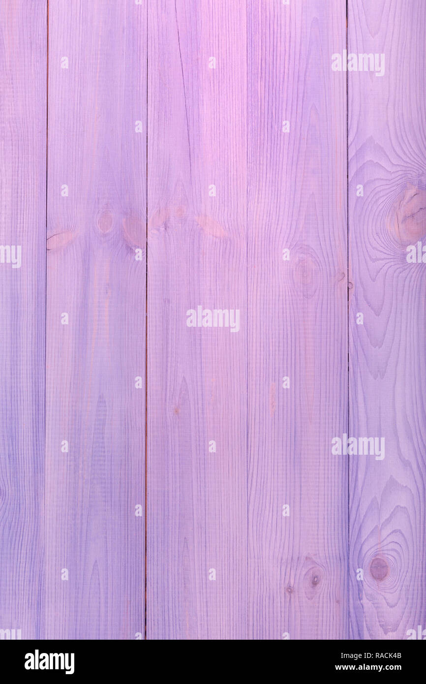 Pink and purple wooden boards as a background Stock Photo