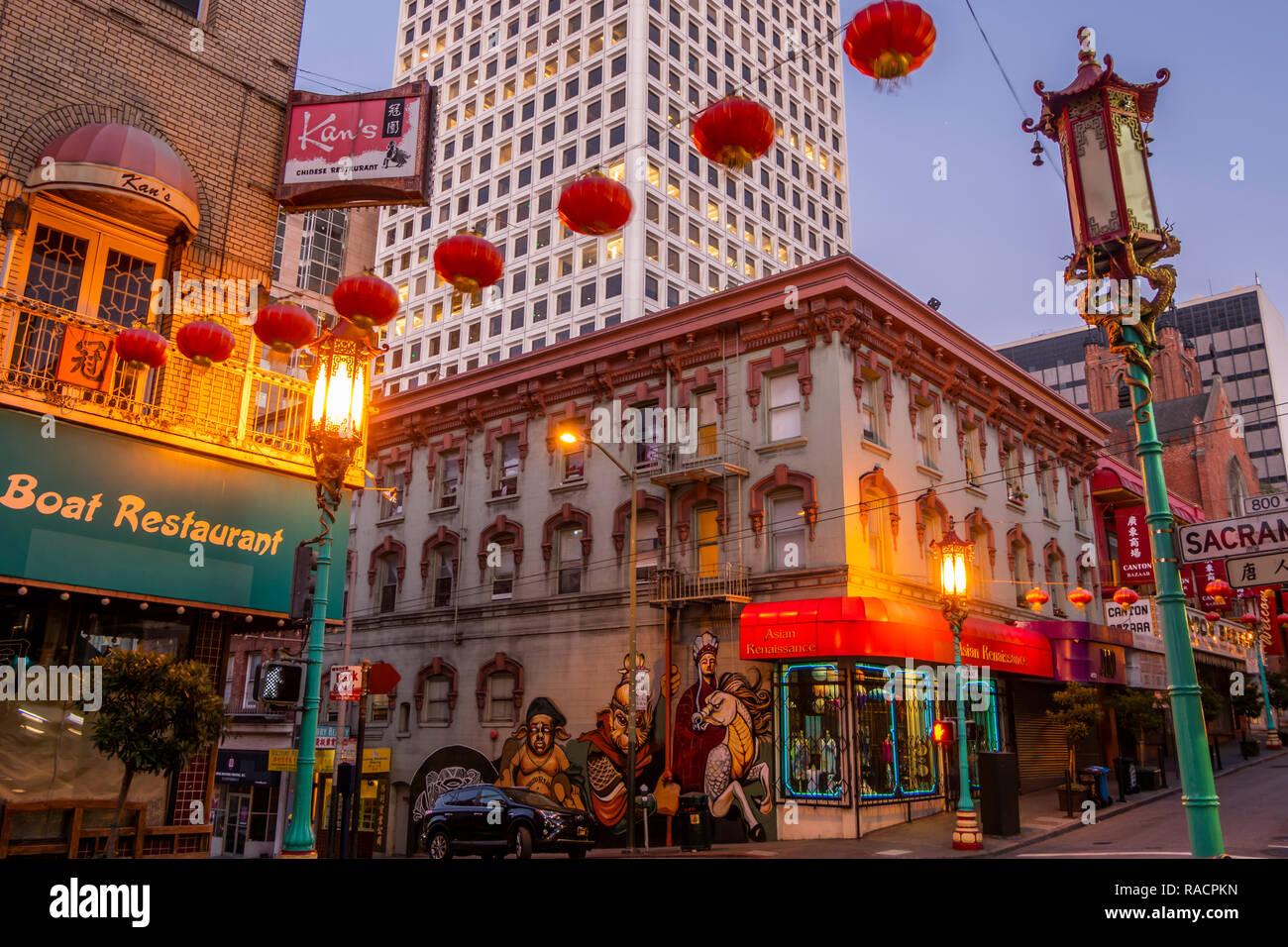 Chinatown San Francisco Restaurant Stock Photos Chinatown