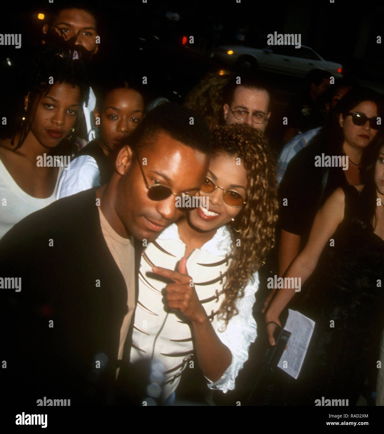 Janet Jackson And Poetic Justice Stock Photos & Janet