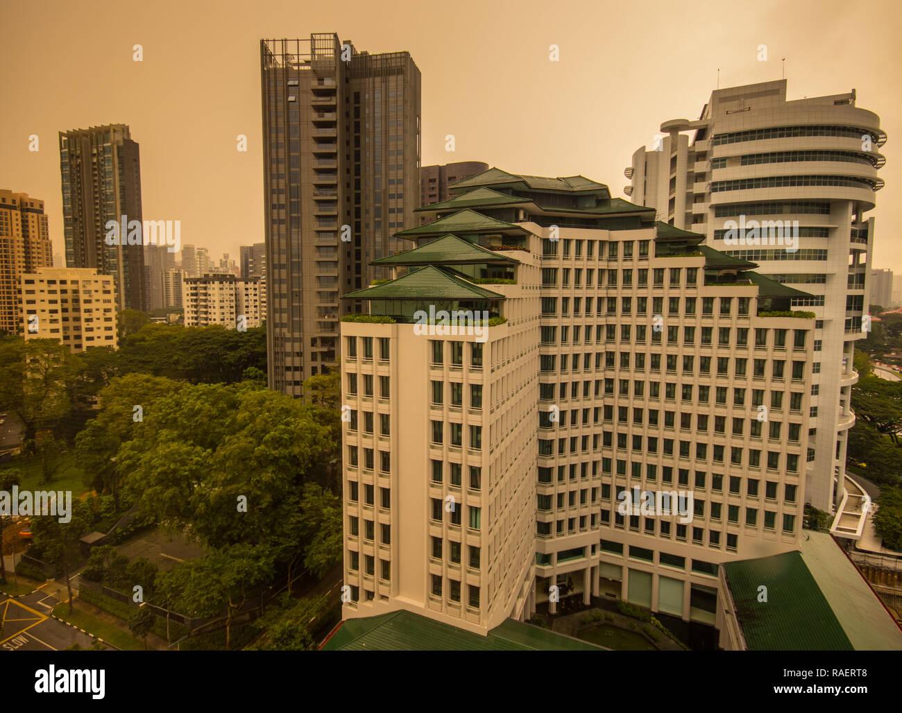Singapore Tourism Board, Orchard, Singapore - Stock Image