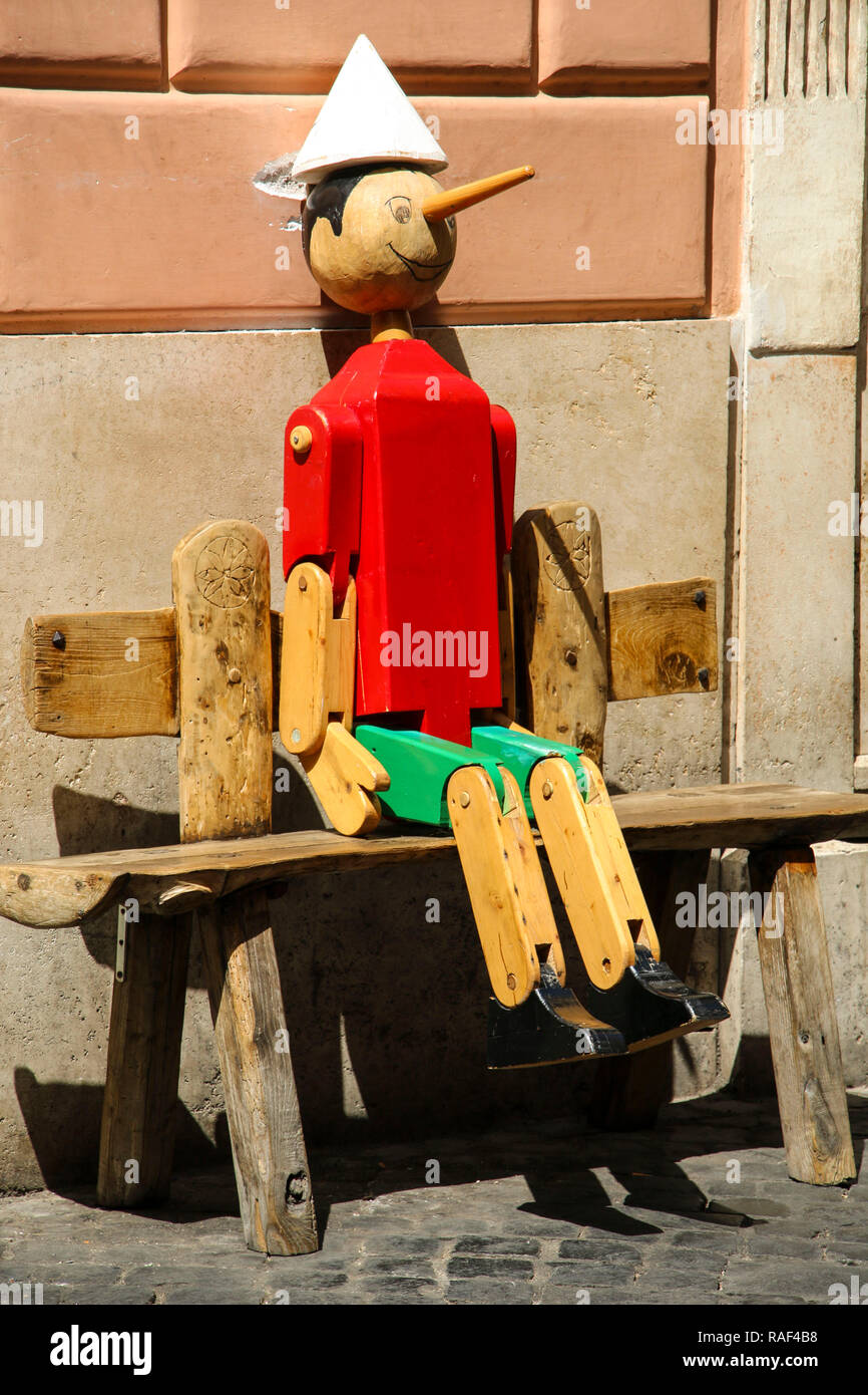 Wooden Marionette Stock Photos & Wooden Marionette Stock