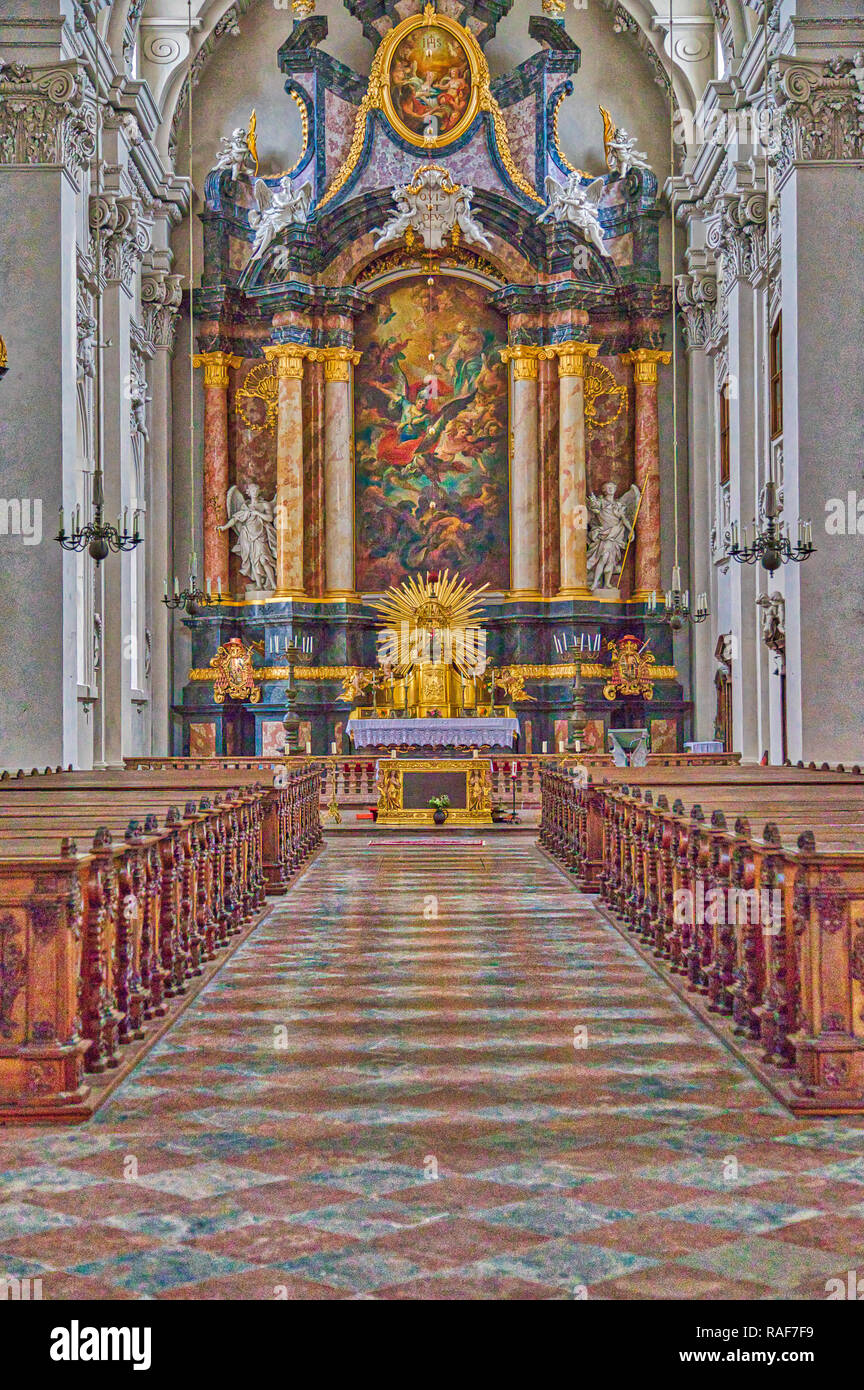 Church Passau Germany - Stock Image