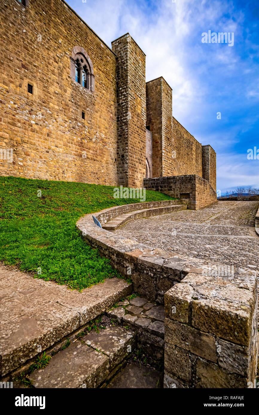 Italy Basilicata Castel Lagopesole Castle Stock Photo
