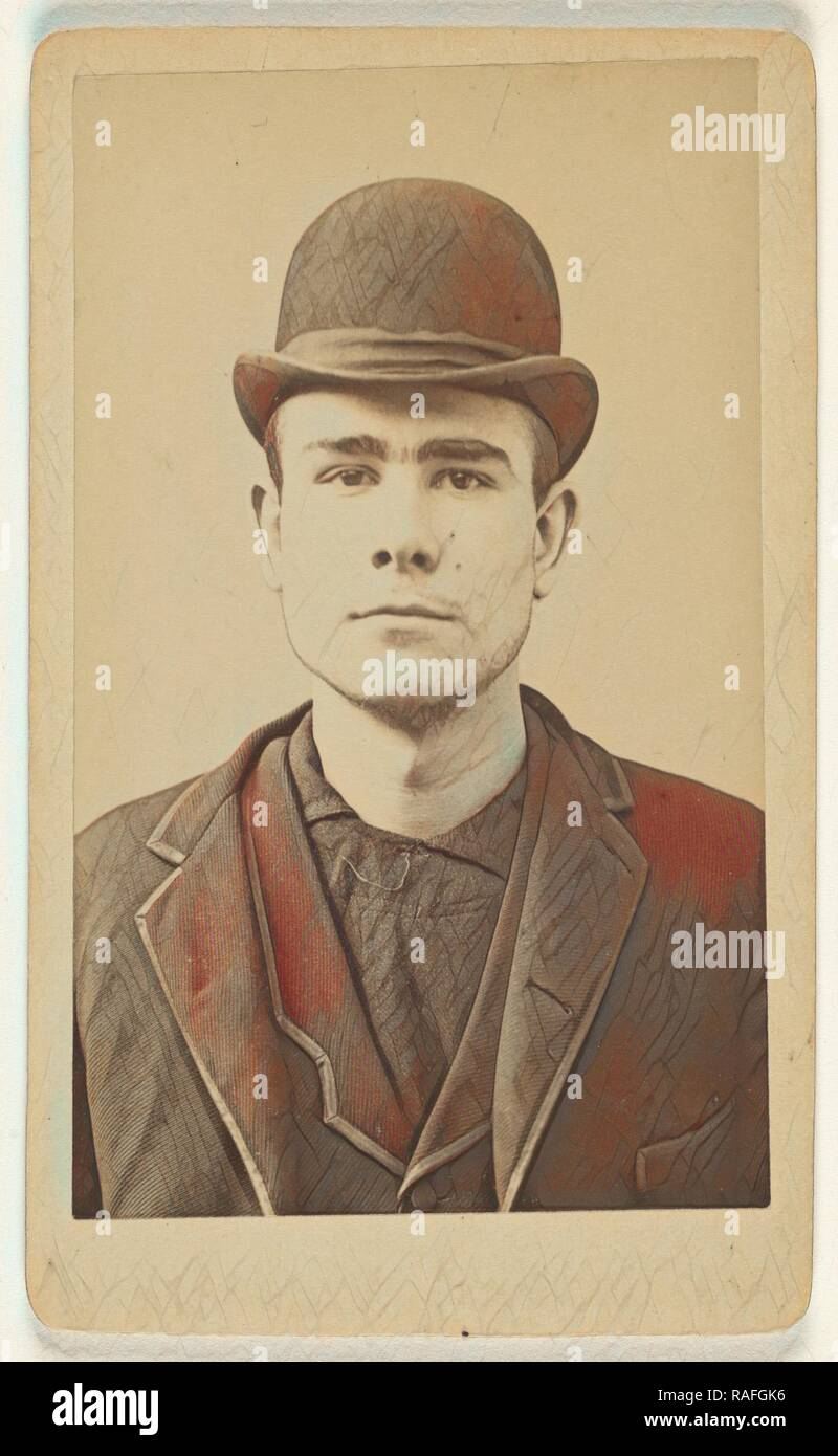 Joseph Smith, Moulton Batchelder (American, 1836 - 1929), about July 1892, Albumen silver print. Reimagined - Stock Image