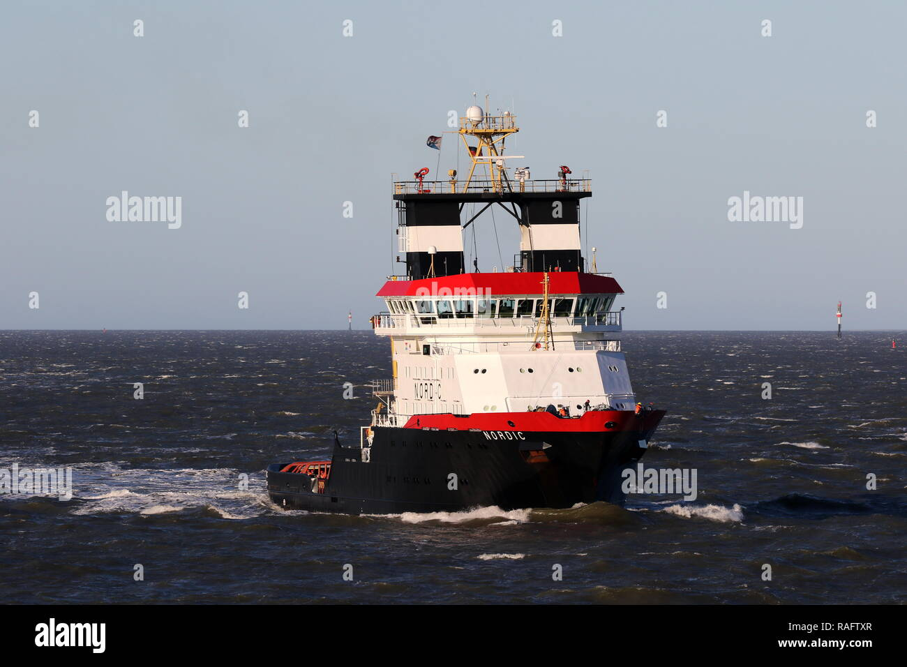 Emergency Tow Vessel Stock Photos & Emergency Tow Vessel Stock